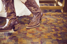 A pair of cowboy boots