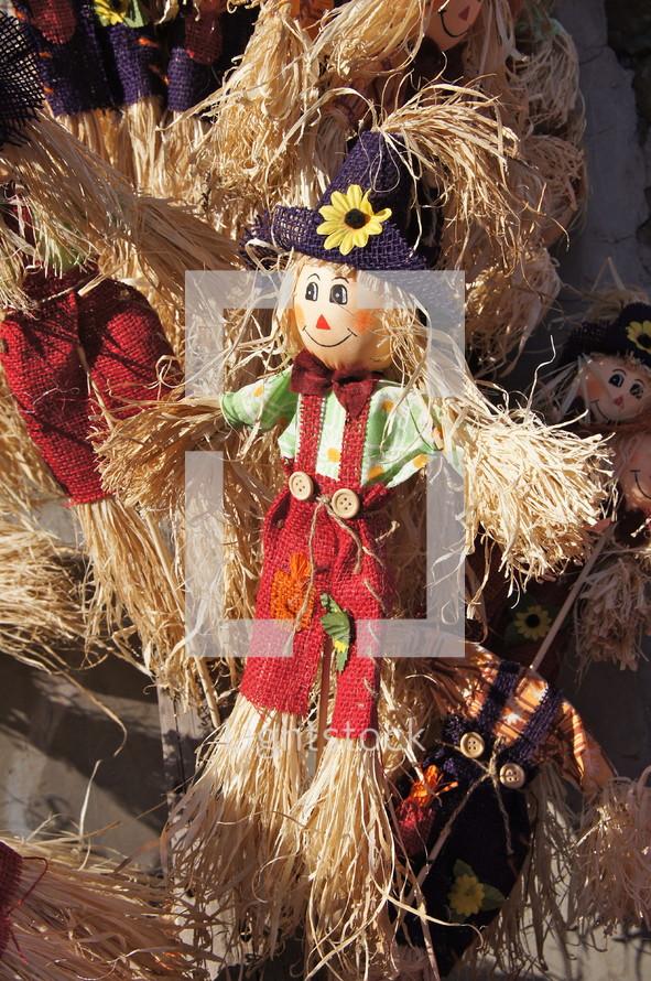 Harvest scarecrow decor