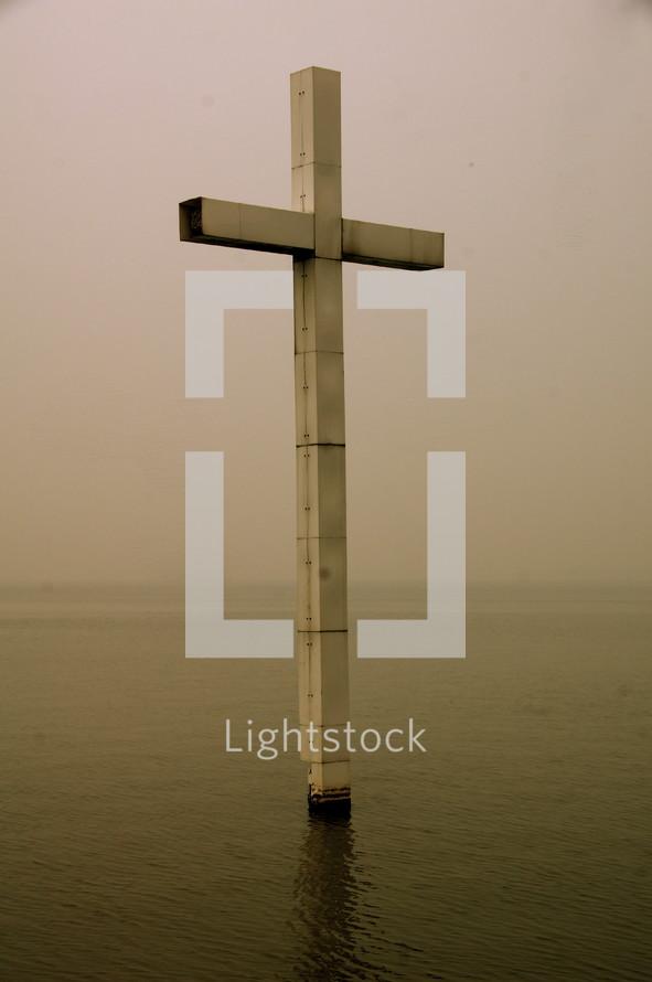 Christian Cross, Suzhou Three Self Lake Church