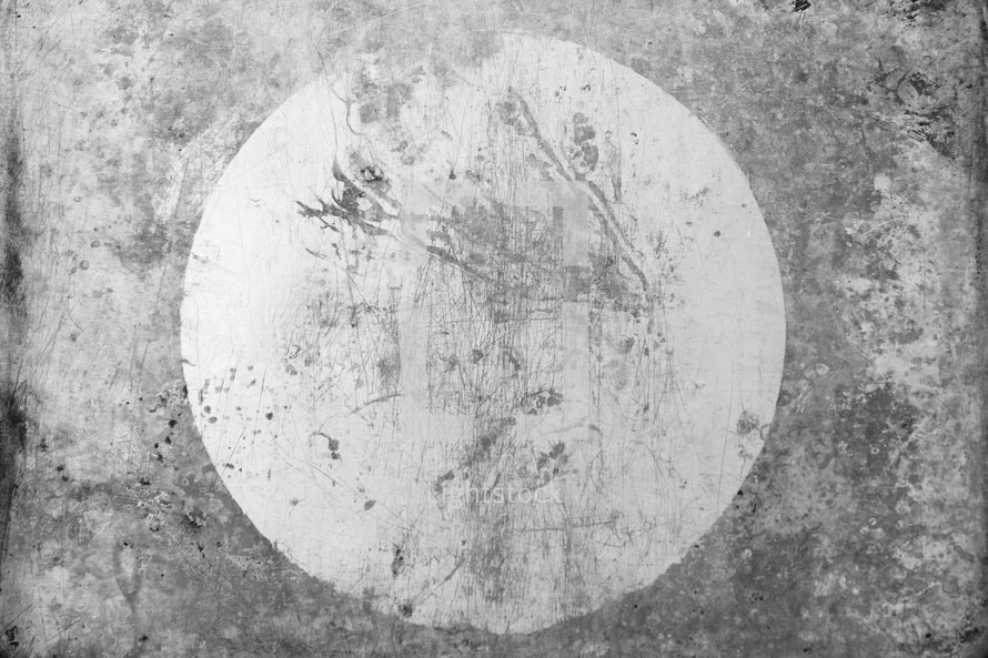 circle on a gray background
