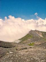 volcanic landscape in Irazu, Costa Rica