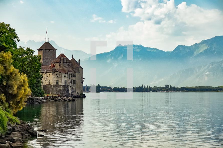 Castle on a shore