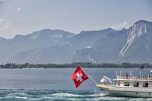 ferry boat in Switzerland