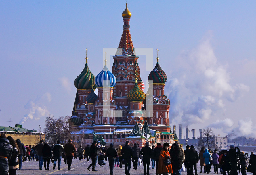 St. Basil's Cathedral, Red Square Moscow