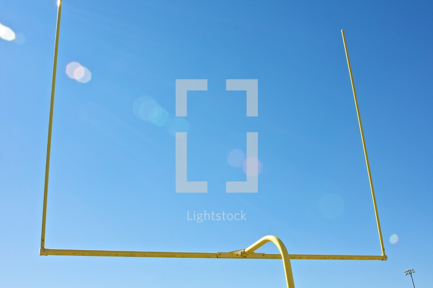 field goal posts