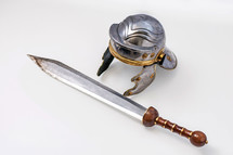 sword, armor, Romans, soldier