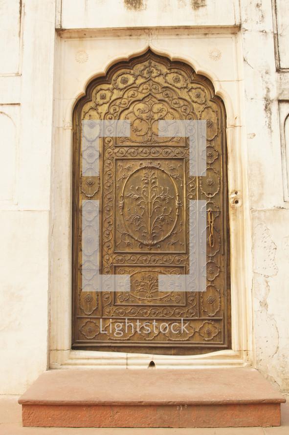 ornate mosque door
