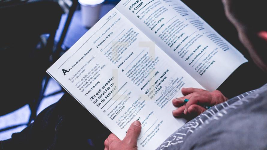 Spanish Bible study
