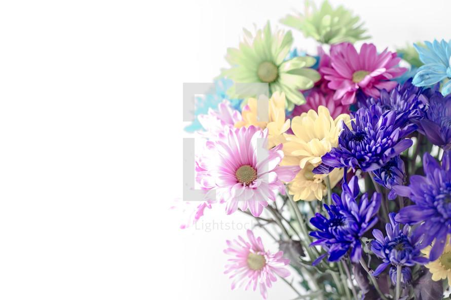 Bouquet of flowers.