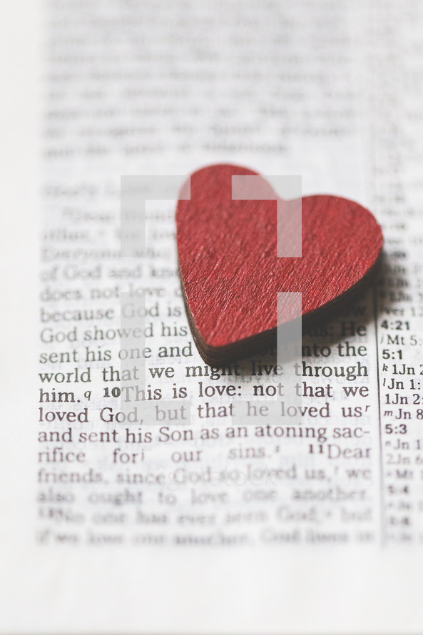This is love: not that we loved God, but that he loved us