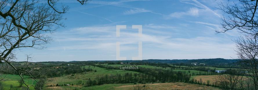 rural green landscape