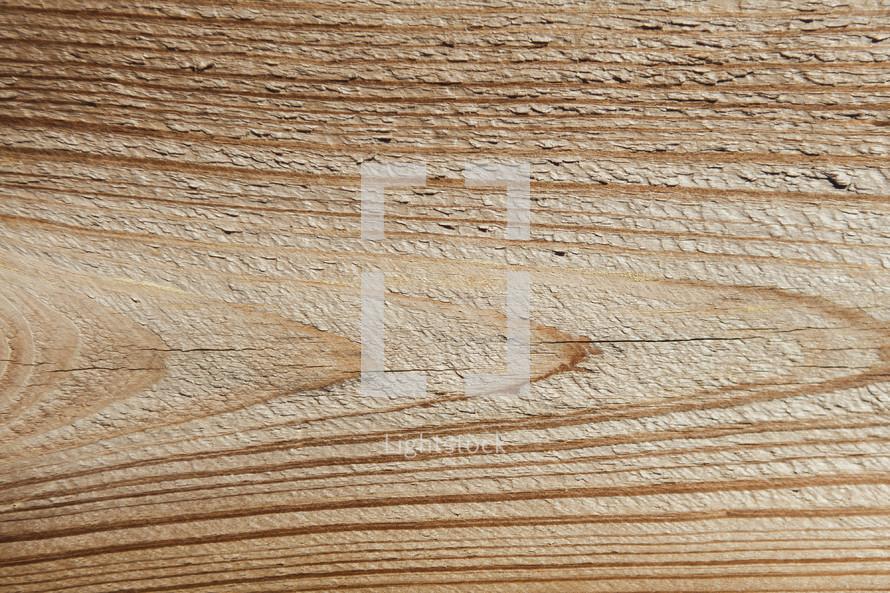 Cedar board with wood grain.