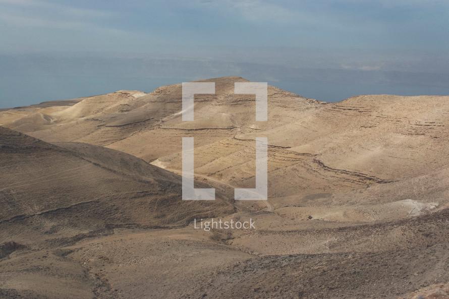 desert landscape in Jordan