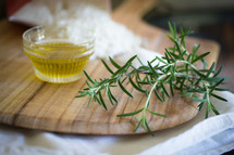 rosemary and olive oil