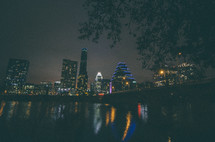 Austin, TX at night