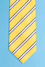 striped neck-tie