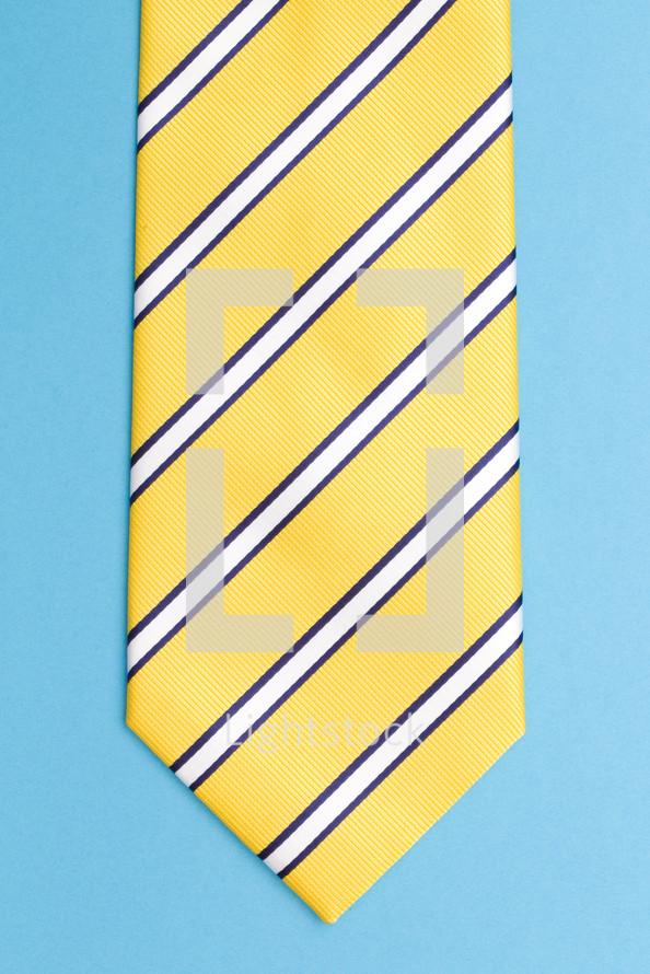 striped neck-tie