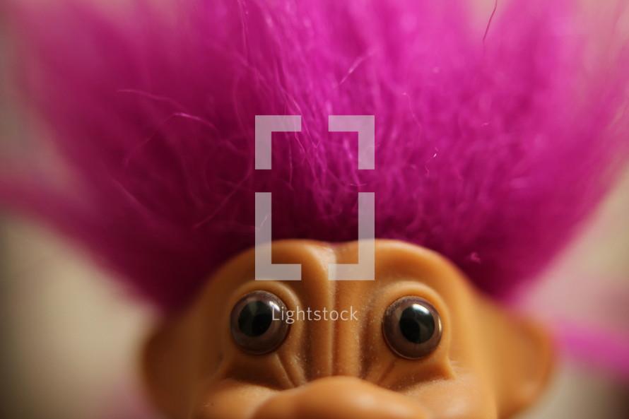 toy troll eyes