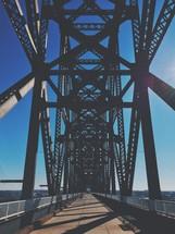 steel bridge supports