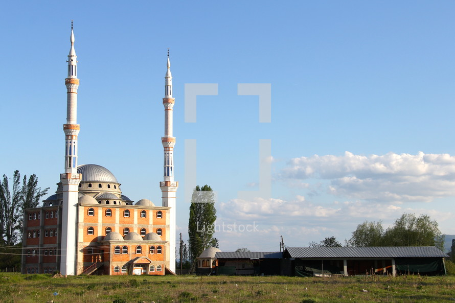 Spires on a Mosque