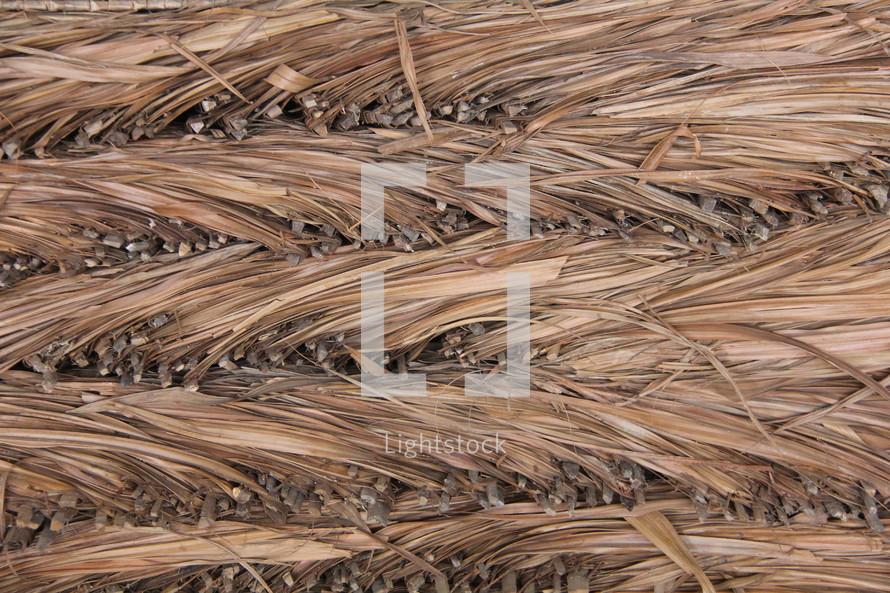 Woven grasses