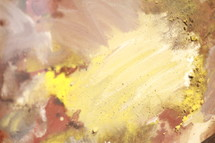 abstract painting, yellow, paint, red, canvas, art, background