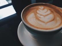 creamer design in coffee