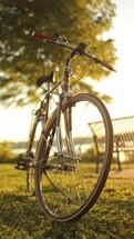 bicycle at a park