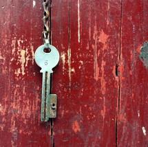 a key. Matthew 16:19