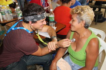Mission trip medical care