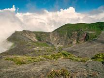 Irazu, Costa Rica landscape