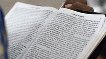 reading a Hindi Bible