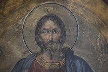 painting of Jesus