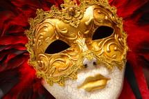 Masquerade or Mardi gras mask