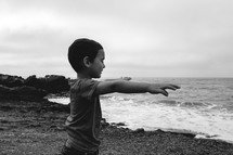 Child at the beach | Worship | Kids | Prayer | Children's Ministry