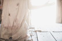 tattered robe