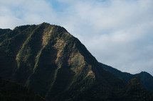 mountainous island landscape