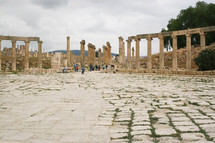 ancient building ruins