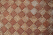 brick paver patio pattern background
