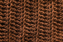brown knit background