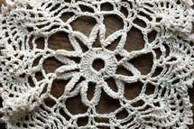 knit doily