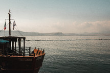 boat on a sea in Israel