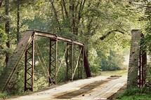 rustic country bridge