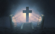 The ten commandments point to the cross of Christ