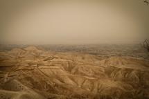 Israel mountain range