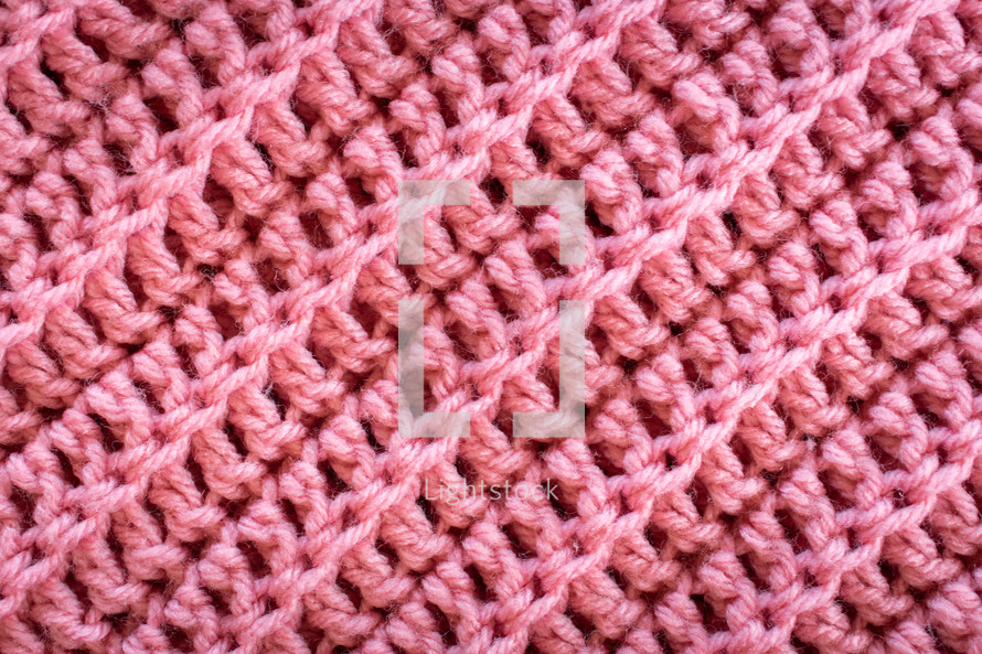 pink knit background