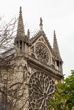 Notre Dame, one of the most famous landmarks in Paris