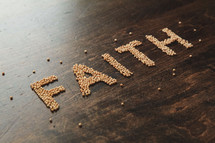 word faith in mustard seeds