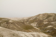 Mountains and desert in Israel