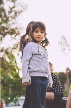 children standing outdoors